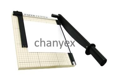 Paper Trimmer with steel base_Guillotina